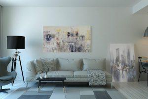 Aranżacje ścian w salonie- na co zwrócić uwagę